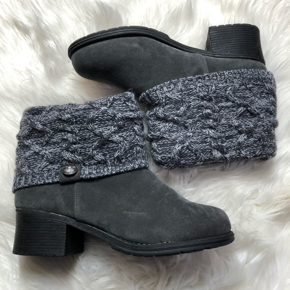 MUK LUKS Haley Women's Ankle Boots Size 11